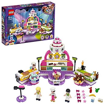 LEGO 41393 Friends Baking Competition Playset with Toy Cakes Cupcakes and Stephanie Mini Doll for 6+ Year Old