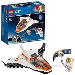 LEGO 60224 City Satellite Service Mission Mini Space Shuttle Toy inspired by NASA