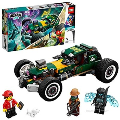 LEGO 70434 Hidden Side Supernatural Racing Car Toy AR Games App Interactive Multiplayer Augmented Reality Playset for iPhone/Android