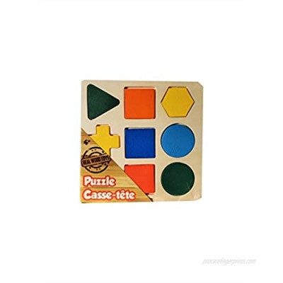 Real Wood Puzzle   Age 4+   for Homes or Schools   Brain Test   Learning Toys