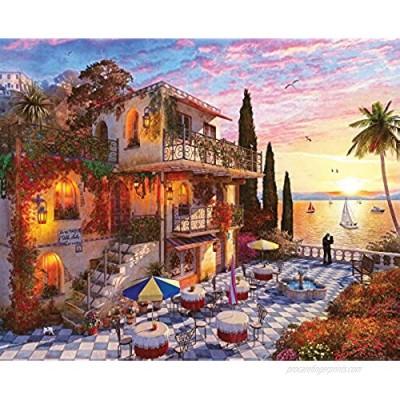 Springbok's 1000 Piece Jigsaw Puzzle Mediterranean Romance  Multi