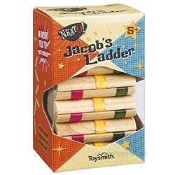Toysmith Neato! Classics Jacob's Ladder Retro Wooden Puzzle Toy  6195