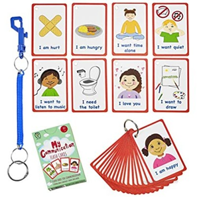 Special Needs My Communication Cards for Special Ed  Speech Delay Non Verbal Children and Adults with Autism 27 Flash Cards for Visual aid or cue Cards