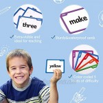Torlam 520 Sight Words Flash Cards Kindergarten Homeschool Supplies with Card Folders & Rings - Dolch Fry High Frequency Site Word for Pre-k Kindergarten 1st 2nd 3rd Grade