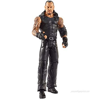 WWE MATTEL Basic Action Figures  Posable 6-In/15.24-cm Collectible for Ages 6 Years Old & Up (GTG21)