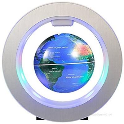 FUZADEL Magnetic Levitating Globe Lluminated Desk Lamp Floating Globes with LED World Map Decor Home Levitating World Globe Gift Decoration