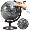 """Mapsoft Expolorer Moon Globe  24cm/9.5""""  M-24  Lunar Globe  Moon Map  Lunar Map"""