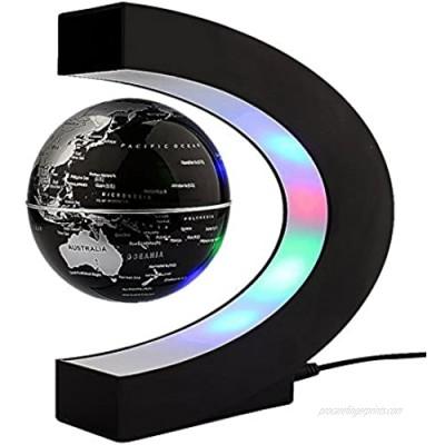 Yosoo C Shape Levitation Floating Globe World Map
