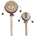 NOVICA Sun God Wood Tamasa Stick-Drum