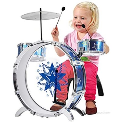PlayGo Baby My First Drum Set Comfortable Toy Play for Toddlers Kids Gift for Boys & Girls Age 3 Years and Older