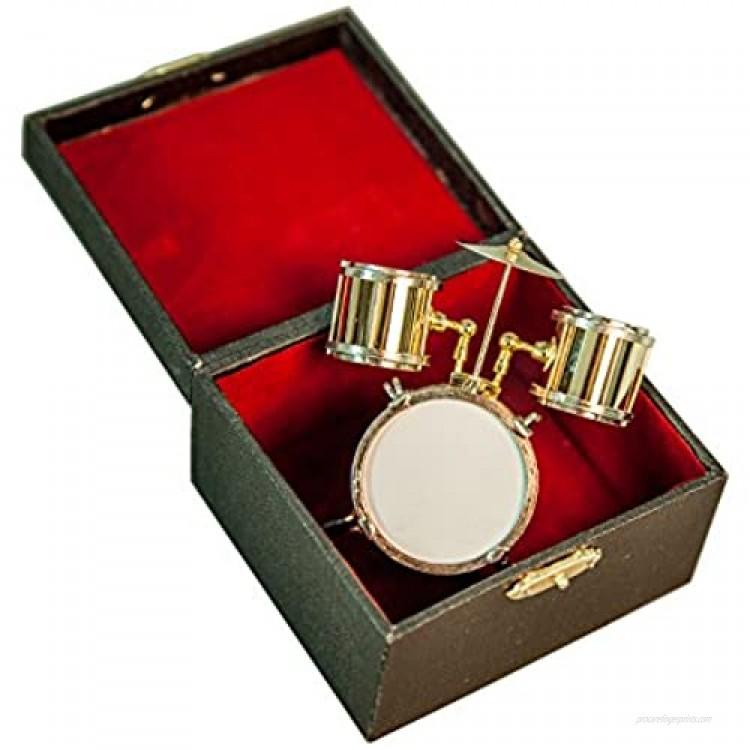Sky Delicate 3 Piece Miniature Drumset Mini Drum Toy