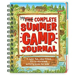 Peaceable Kingdom My Complete Summer Camp Journal - A Super-Fun  Joke-Filled  Fill-in the Blank Activity Book for Kids