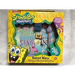 SET Secret Diary Spongebob Squarepants