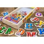 Bendon TS Shure Alphabet Letters Magnafun 20-Piece Wooden Magnets Pre-School Kindergarten Learning 50496