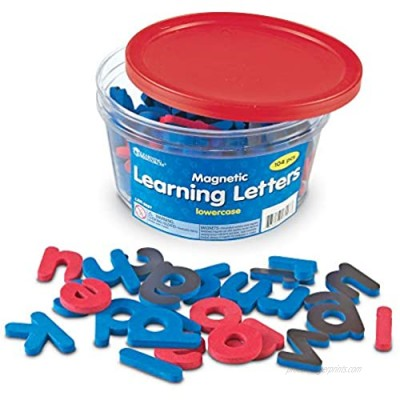 Learning Resources Magnetic Learning Letters - Lowercase  Stick to Fridge  Ages 3+ Multi-color