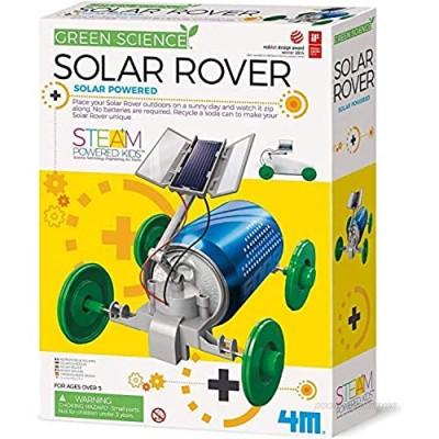 4M 3782 Green Science Solar Rover Kit DIY Solar Power  Eco-Engineering Stem Toys Educational Gift for Kids & Teens  Boys & Girls