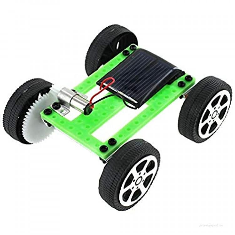 xUmp.com Micro Solar Car Kit - Make Your Own Solar Powered Car - Educational DIY STEM Science Activity