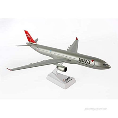 Flight Miniatures Northwest Airlines NWA 2003 NC New Color Airbus A330-300 1:200 Scale Display Model