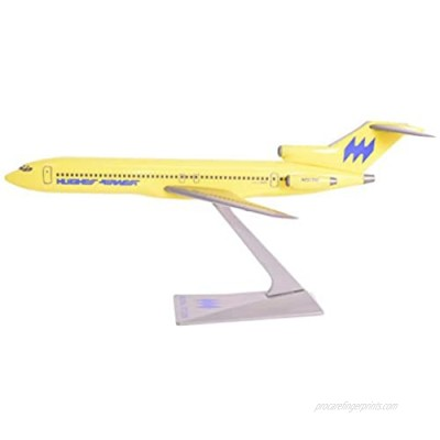 Hughes Airwest 727-200 Airplane Miniature Model Plastic Snap-Fit 1:200 Part#ABO-72720H-017