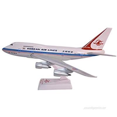 Korean Air Lines (69-84) 747SP Airplane Miniature Model Snap Fit Kit 1:200 Part# ABO-747SPH-006