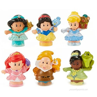 Fisher-Price Little People Disney Princess Gift Set (6 Pack) [ Exclusive]
