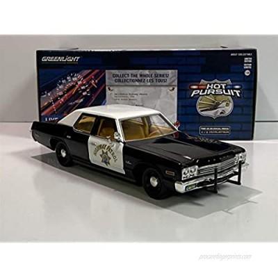 Greenlight 85511 Hot Pursuit - 1974 Dodge Monaco - California Highway Patrol CHP 1:24 Scale
