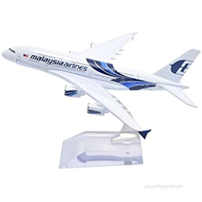 TANG DYNASTY(TM 1:400 16cm Airbus A380 New Painting Malaysia Airlines Metal Airplane Model Plane Toy Plane Model