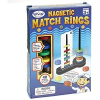 Magnetic Match Rings  Magnet Matching Game STEM Learning Toy for Kids