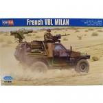 Hobby Boss French Vbl Milan Armor Model Kit