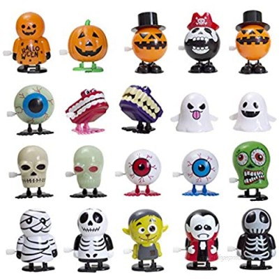 AWZNG 20PCS Wind Up Toys for Party Assorted Clockwork Toys Supply for Party Favors for Boys Girls Kids