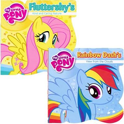 My Little Pony Board Books - Set of 2 ~ Rainbow Dash & Fluttershy
