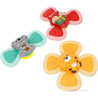 WIAFOCD Suction Cup Spinning Top Toy Toddler Bath Toys Baby Bath Toys Suction Toys for Baby Squigz Suction Toys Sensory Toys for Babies Table Sucker Spinner Early Learner Toys Whirly Squigz