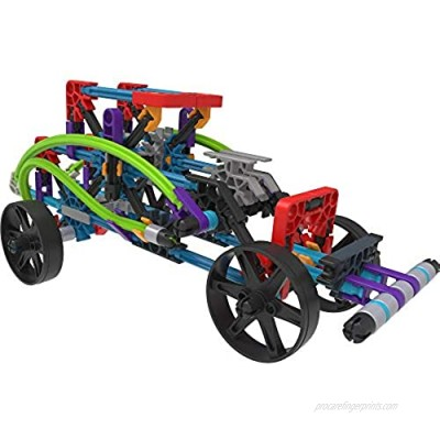K'NEX 15214 12 Model Rad Rides Building Set Educational Toys for Boys and Girls 206 Piece Stem Learning Kit Engineering for Kids Fun and Colourful Building Construction Toys for Children Aged 7 +