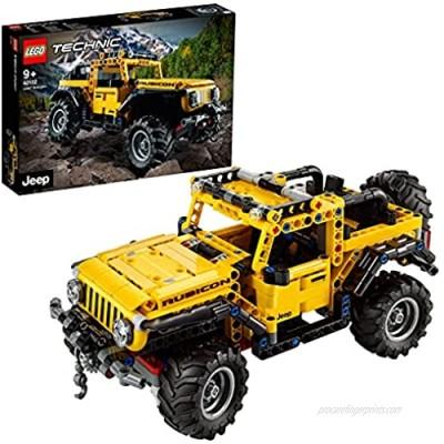 LEGO42122TechnicJeepWrangler4x4ToyCar OffRoaderSUVModelBuildingSet