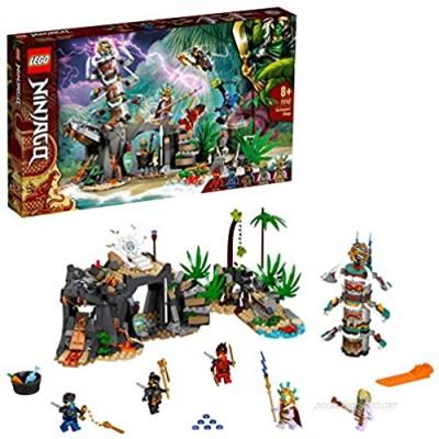 LEGO71747NINJAGOTheKeepers'VillageBuildingSet withNinjaCole JayandKaiMinifigures ToysforKids8+YearsOld