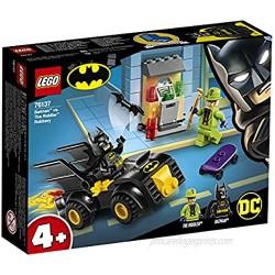 LEGO 76137 4+ DC Batman Batman vs. The Riddler Robbery Batmobile Toy Car for Kids 4 Years Old