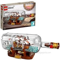 LEGO92177IdeasShipinaBottleCollectorsBuildingSetwithDisplayStand [ Exclusive]