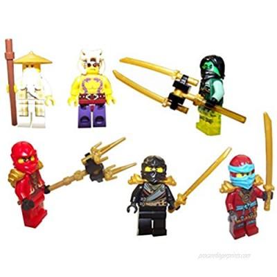 LEGO® Ninjago figures set with great original weapons